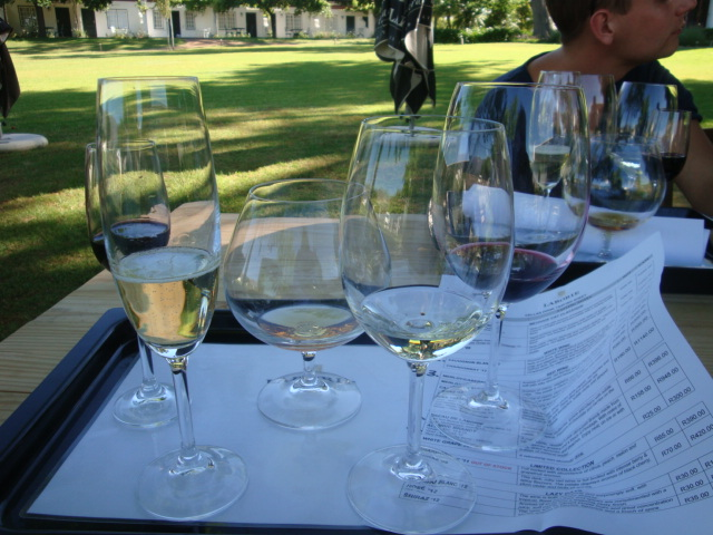 Vinprovning Laborie Paarl