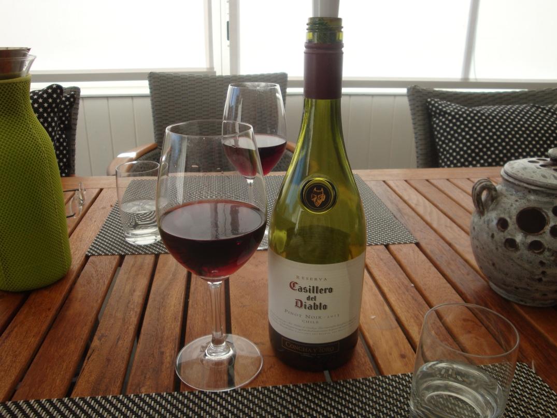 Vin till ankbröst