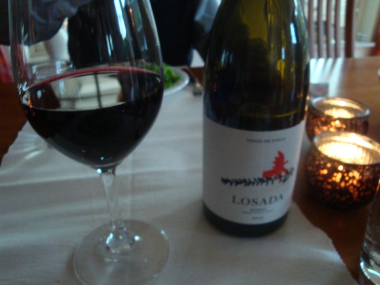Vin till fylld lövbiff