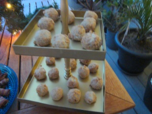 Ostbollar till glöggfest