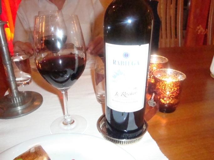 Vin till oxfilé med chilichokladsås