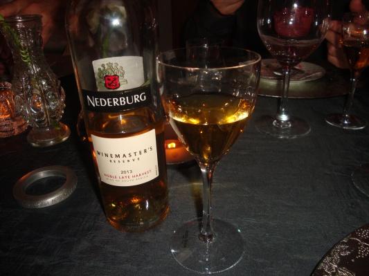 Dessertvin till hallonparfait (1)