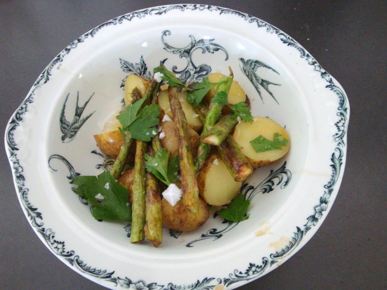 Potatis med brynt smör