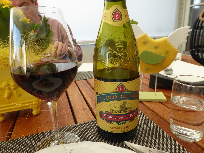 Vin till risotto med lammbog