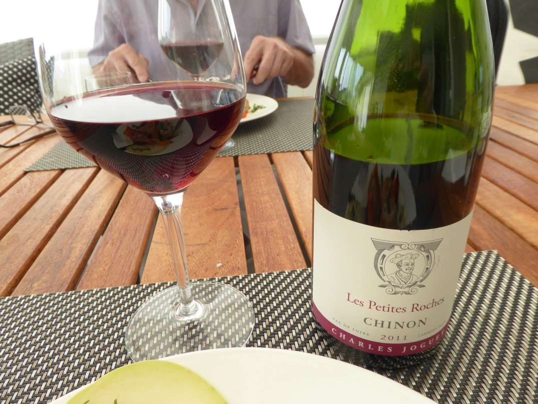 Vin till kyckling med ramslök och morotspuré