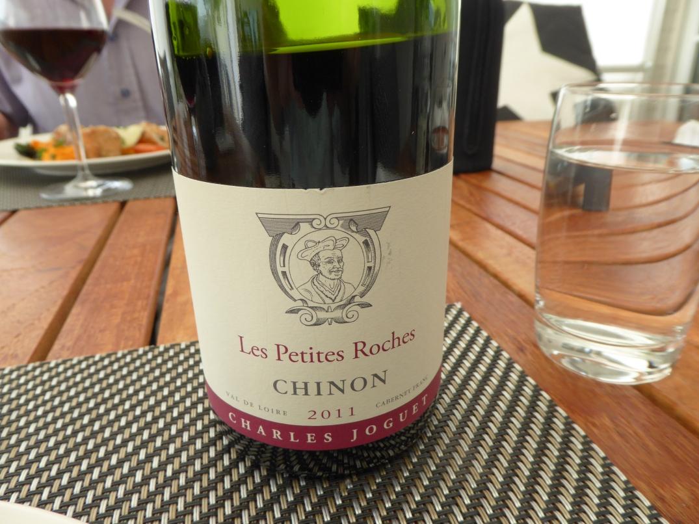 Vin till kyckling med ramslök och mortspuré