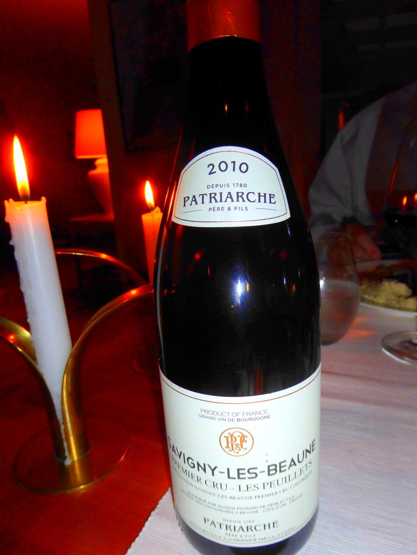 Vin från Patriarche till ankbröst