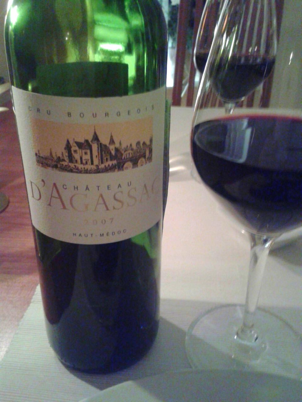 Bordeauxvin till entrecote med fikonsås