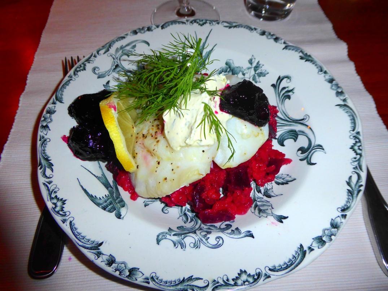 Rimmad torsk med rödbetsrisotto (2)