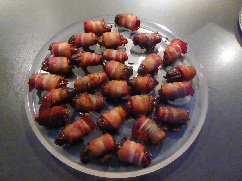 Baconlindade dadlar med ädelost